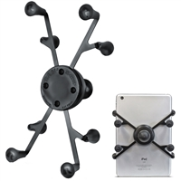 "Ram Mounting Systems Ram-Hol-Un8Bu Mount X-Grip Universal Tablet Holder 1"" Ball"