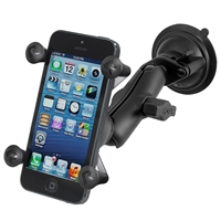 Ram Mounting Systems Ram-B-166-Un7U Mount Twist Lock Suction Cup Universal