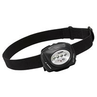 Princeton Tec Quad-Ii-Bk Quadr Ii 78 Lumen Intrinsically Safe Headlamp