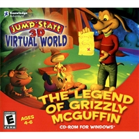 Knowledge Adventure 83983 Jumpstart 3D Virtual World: The Legend Of Grizzly