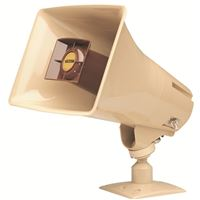 VALCOM V-1030C ONE-WAY 5 WATT AMPLIFIED HORN BEIGE