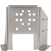 Sierra_47 18-6750 Trim Bracket Floor Mount Ss
