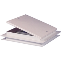 Hengs 18511-C1G Mini Vent 9X9 White