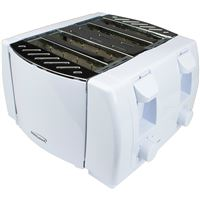 Brentwoodr Appliances Ts-265 1300W 4 Slice Toaster Wht