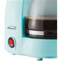 Brentwood Appliances Ts-213Bl 4Cup Coffee Maker Blu