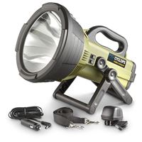 Gsm Outdoors C18Mil Cyclops Colossus 18 Million Candle Power Spotlight-Green