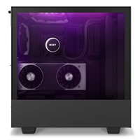 NZXT CA-H510E-B1 Case H510 Elite Mid-Tower Tempered Glass USB 3.5/2.5 ATX Matte