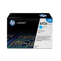 Hp Inc. Q5951A Toner 643A Cyan 10000 Pg Yield