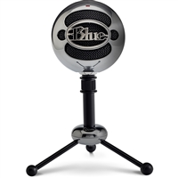 LOGITECH 988-000068 BLUE MICROPHONE SNOWBALL USB MICROPHONE-BRUSHED