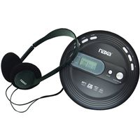 Naxa Npc-330 Slim Personal Cd Player Fm Scan Radio