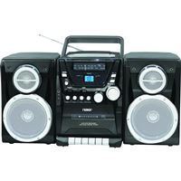 Naxa Npb-426 Portable Cd Player Am/Fm Stereo Radio Cassette Player/Recorder And
