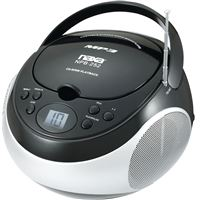 Naxa Npb-252Blk Portable Mp3/Cd Player Am/Fm Stereo Radio- Black