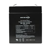 Bright Way Group Bw 1250 F1 0124 12V 5A Sld Ld Acd Bat