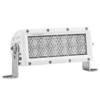"Rigid Industries 806513 E-Series Pro 6"" Hybrid-Diffused Led White"
