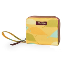 Po Campo Bw3615 Bill Fold Wallet Yellow Feathers
