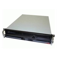 Compucase Corp. RA251C00F Compu Case 2U Rackmount 2/2/ 3 Fan No Power Supply