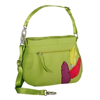 Haiku Hk012-Apg Women'S Bucket Eco Crossbody Bag Apple Green