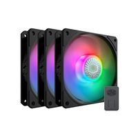Cooler Master Mfx-B2Dn-183Pa-R1 Sickleflow 120 V2 Addressable Rgb 3 In 1 Square