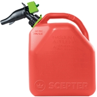 Scepter FR1G501 Gas Can 5-Gal Epa