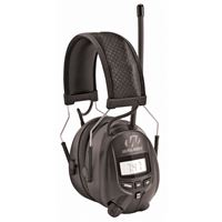 Gsm Outdoors Gwp-Rdom Walkers Digital Am Fm Radio Power Muff Black