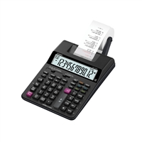 Casio Hr-170Rc Desktop Printing Calculator 12 Digits 2 Color Adapter Included