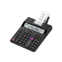 Casio Hr-200Rc Desktop Printing Calculator Extra Large Display 2 Color Adapter