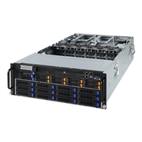 Gigabyte G481-Ha1 4U/Dp Scalable Cpu 24Xddr4 10X2.5Bay 12 X 3.5Bay 3X2200W Psu