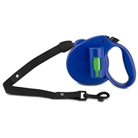 Ec Solutions Blu-1967 Paw Bio Retractable Leash Green Pick-Up Bags Blue