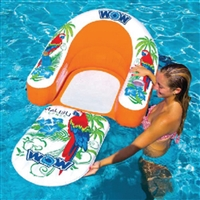 WOW Watersports 14-2070 Lounge Malibu 1Person Orange