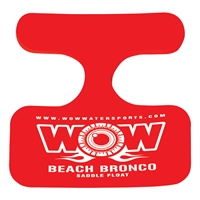 WOW Watersports 14-2140 Saddle Beach Bronco Red