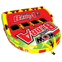 Wow Watersports 17-1070 Giant Bubba Hi-Vis 4P Towable 4 Person