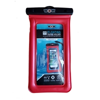 "Wow Watersports 18-5010R H2O Proof Smart Phone Holder 5"" X 9"" Red"