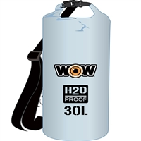 Wow Watersports 18-5090C H2O Proof Dry Bag Clear 30 Liter