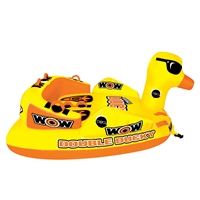 Wow Watersports 19-1050 Double Ducky Towable 2 Person