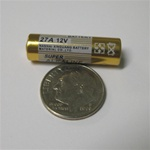27A Battery - Alkaline - 12vDC - Replacement/Each