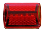 LED Bicycle/Bike Strobe tail light.  7 Modes of flashing/steady - (2) AA batteries (not included)