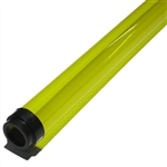 T12 Canary Yellow Fluorescent Tube Colored Safety Sleeve and Guard.  A cheap way to color your life!