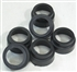 T12 End Cap Pack - Fluorescent Sleeve End Caps (12pc)