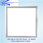 LED 2x2 Panel-Lay In Fixture 45 Watts, UL, AC110-277V, 216 High Output Seoul LEDs - Day White
