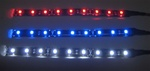 6 Inch LED Flexible Strip -12vdc, Waterproof - 6inch w/Leads