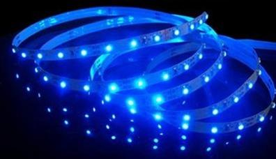 Blue led flexible ribbon strips led ribbon tape 12 volt dc alternative views sciox Images