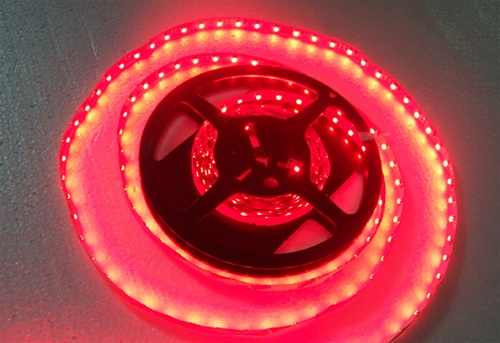 Red led flexible ribbon strips red led tape 12 volt dc cherry alternative views aloadofball Gallery