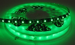 Green Waterproof LED Flexible Ribbon Strips | LED Ribbon Tape - Low power consumption, infinite uses.  We import our LED Flexible Ribbon spools and Flex Ribbon Tape ourselves to ensure a quality product and the best possible price to you, our customer!