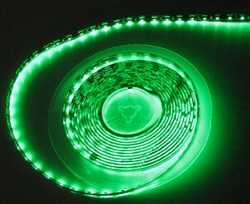 Side Fire/Light 3014 LED Emerald Green Waterproof Flexible Ribbon Strips | LED Ribbon Tape - Low power consumption, infinite uses.  We import our LED Flexible Ribbon spools and Flex Ribbon Tape ourselves to ensure a Quality product best possible price.