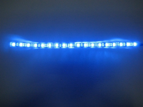 Flex Led Strip 5050 High Output 12vdc Waterproof Black Pcb 12