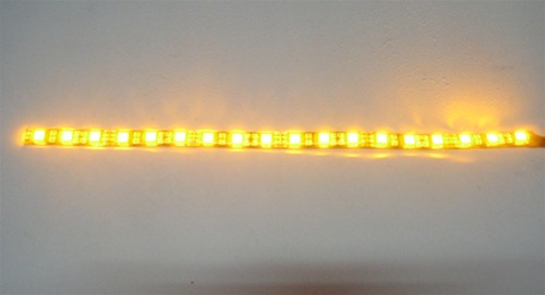 Flex led strip 5050 high output 12vdc waterproof black pcb 12 list price 1195 mozeypictures Choice Image
