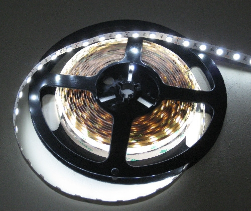 Pure white non wp led flex 5050 led tape lights 5500k low power alternative views aloadofball Images
