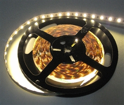 Warm White LED Flex 5050 -24vdc, Non-WP, Warm White, High Output - 5M Spool, 3000K