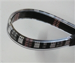 Flex LED Strip IP68 - 5050- Double Density - 12vDC, 12 Inches (by the foot!) 100% Waterproof, Black PCB - 12 Inch waterproof strip with Quick Connector Set!