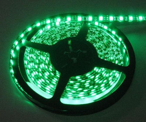 Emerald Green Waterproof Led Flex Strips Led Tape Lights